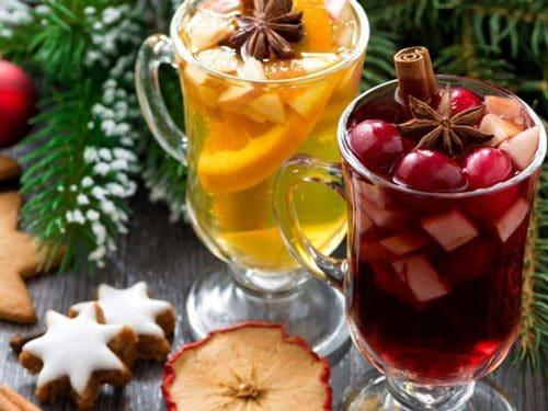 коктейли новогодние