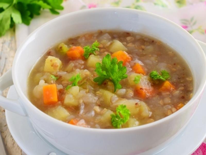 Рецепты для диет суп гречневый